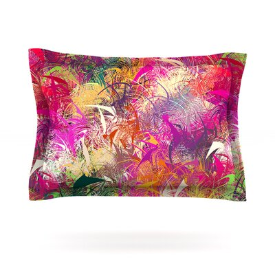 Splash by Danny Ivan Featherweight Pillow Sham Size: Queen, Fabric: Cotton