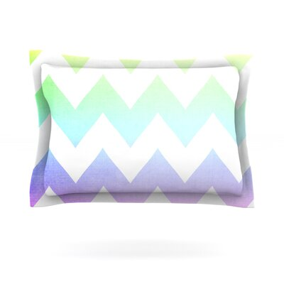 Water Color by Catherine McDonald Featherweight Pillow Sham Size: King, Fabric: Cotton