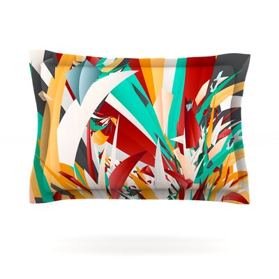 Lafaye by Danny Ivan Featherweight Pillow Sham Size: King, Fabric: Cotton