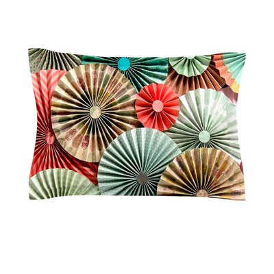 Sherbert by Heidi Jennings Featherweight Pillow Sham Size: King, Fabric: Cotton