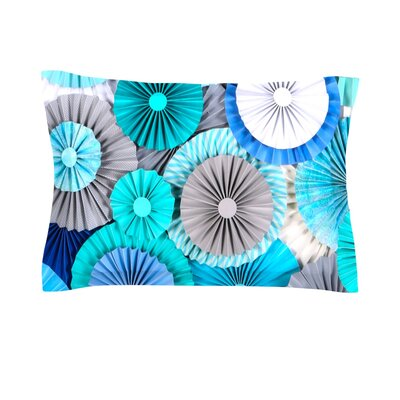 Brunch at Tiffanys by Heidi Jennings Featherweight Pillow Sham Size: Queen, Fabric: Cotton