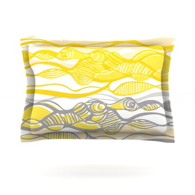 Kalahari by Gill Eggleston Featherweight Pillow Sham Size: King, Fabric: Cotton