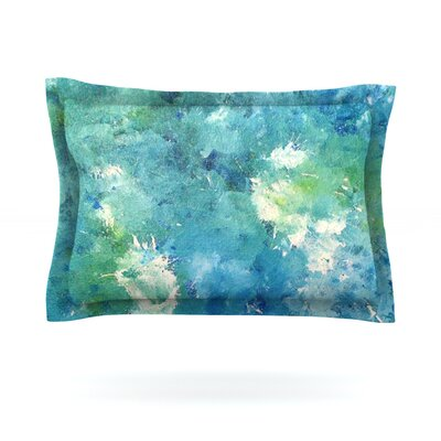 Sporatically by CarolLynn Tice Featherweight Pillow Sham Size: King, Fabric: Cotton