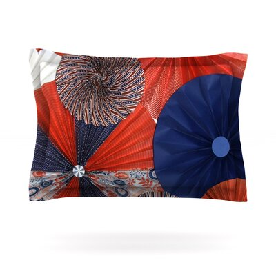 Liberty by Heidi Jennings Featherweight Pillow Sham Size: King, Fabric: Cotton