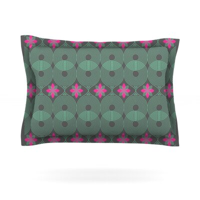 Pattern #3 (Version 2) by Deepti Munshaw Featherweight Pillow Sham Size: King