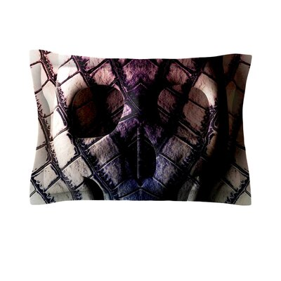 Skull by Danny Ivan Featherweight Pillow Sham Size: Queen, Fabric: Cotton