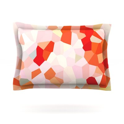Oooh La La by Iris Lehnhardt Featherweight Pillow Sham Size: King, Fabric: Cotton