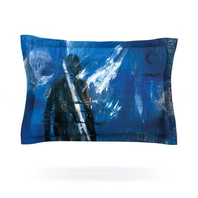 Release by Josh Serafin Featherweight Pillow Sham Size: King, Fabric: Cotton