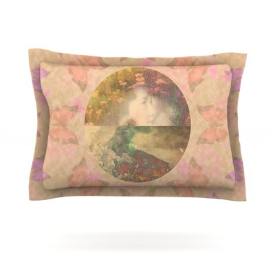 Rebirth by Deepti Munshaw Featherweight Pillow Sham Size: King, Fabric: Cotton