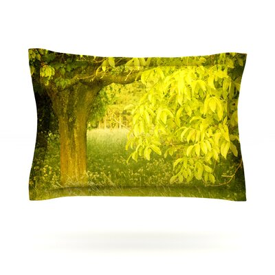 Summer by Iris Lehnhardt Featherweight Pillow Sham Size: Queen, Fabric: Cotton