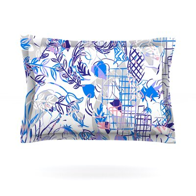 She by Gabriela Fuente Featherweight Pillow Sham Size: Queen, Fabric: Cotton