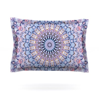 Summer Lace II by Iris Lehnhardt Featherweight Pillow Sham Size: King, Fabric: Cotton