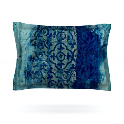 Mosaic by Frederic Levy-Hadida Pillow Sham Size: Queen, Fabric: Cotton