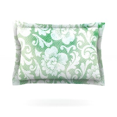 Daydreaming by Heidi Jennings Featherweight Pillow Sham Size: King, Fabric: Cotton