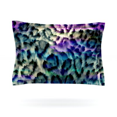 Wild by Gabriela Fuente Featherweight Pillow Sham Size: Queen, Fabric: Cotton