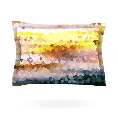 Turaluraluraluuu by Iris Lehnhardt Featherweight Pillow Sham Size: King, Fabric: Cotton