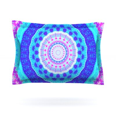 Summer Colors by Iris Lehnhardt Featherweight Pillow Sham Size: Queen, Fabric: Cotton