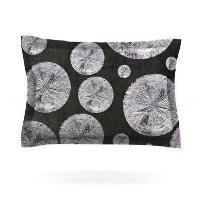 Pyrite by Iris Lehnhardt Featherweight Pillow Sham Size: Queen, Fabric: Cotton
