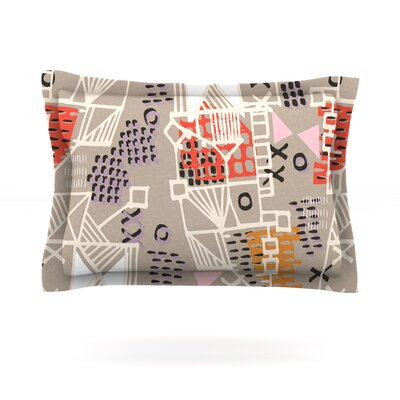 Nico by Gill Eggleston Featherweight Pillow Sham Size: Queen, Fabric: Cotton