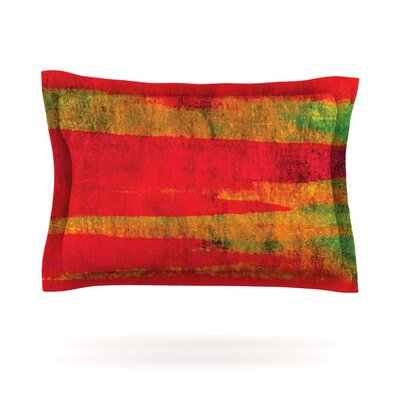 Fierce by Ebi Emporium Featherweight Pillow Sham Size: Queen, Fabric: Woven Polyester