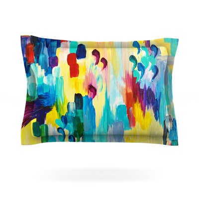 Dont Quote Me by Ebi Emporium Featherweight Pillow Sham Size: Queen, Fabric: Cotton
