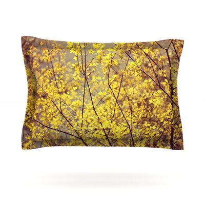 Autumn by Ingrid Beddoes Pillow Sham Size: King, Fabric: Cotton