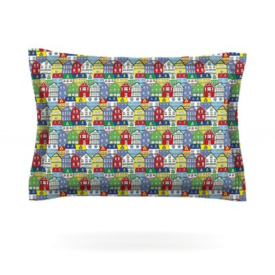 Reykjavik by Holly Helgeson Featherweight Pillow Sham Size: Queen, Fabric: Cotton