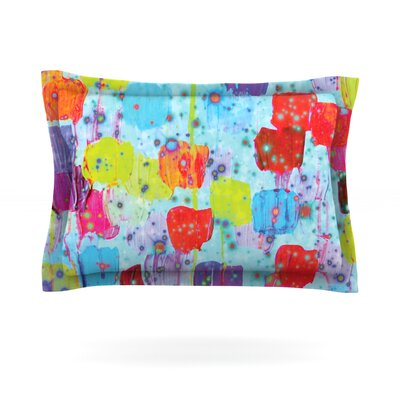 Speckle Me Dotty by Ebi Emporium Featherweight Pillow Sham Size: Queen, Fabric: Cotton