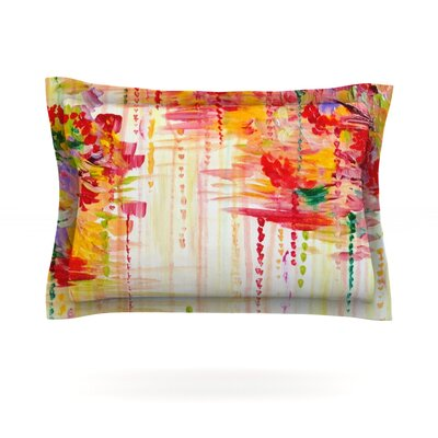 Stormy Moods by Ebi Emporium Featherweight Pillow Sham Size: King, Fabric: Cotton