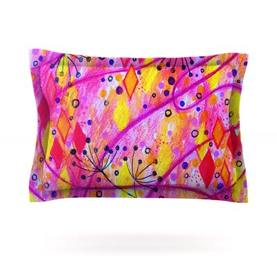 Into the Fall 2 by Ebi Emporium Featherweight Pillow Sham Size: Queen, Fabric: Cotton