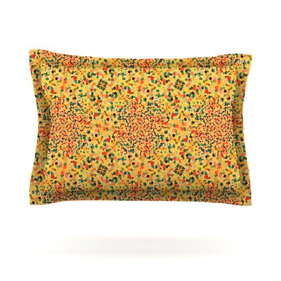 Swept Away II by Ebi Emporium Featherweight Pillow Sham Size: Queen, Fabric: Cotton