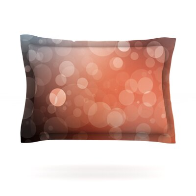 Sunset Featherweight Pillow Sham Size: King, Fabric: Cotton