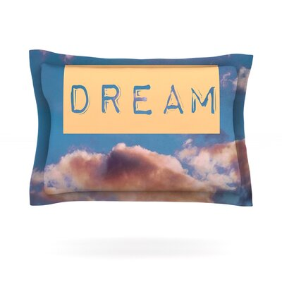DREAM by Iris Lehnhardt Featherweight Pillow Sham Size: Queen, Fabric: Cotton