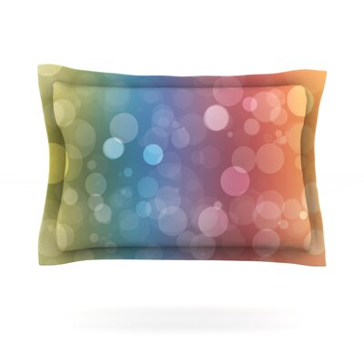 Prism Featherweight Pillow Sham Size: Queen, Fabric: Cotton