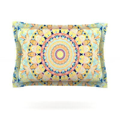 Flourish by Iris Lehnhardt Featherweight Pillow Sham Size: Queen, Fabric: Cotton