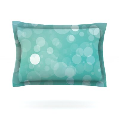 Let It Go Featherweight Pillow Sham Size: Queen, Fabric: Cotton