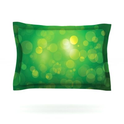 Radioactive Featherweight Pillow Sham Size: King, Fabric: Cotton