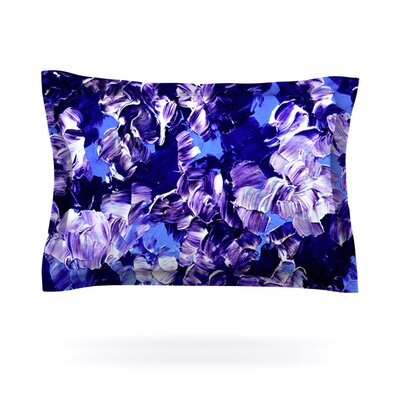 Floral Fantasy by Ebi Emporium Featherweight Pillow Sham Size: King, Fabric: Cotton