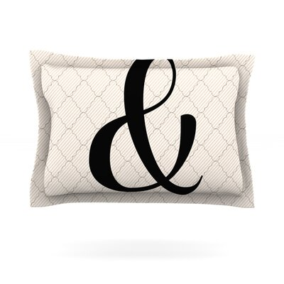 Amperstamp Featherweight Pillow Sham Size: Queen, Fabric: Cotton