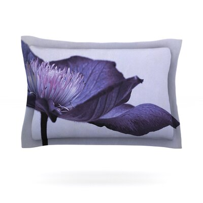 Indigo by Iris Lehnhardt Featherweight Pillow Sham Size: Queen, Fabric: Cotton