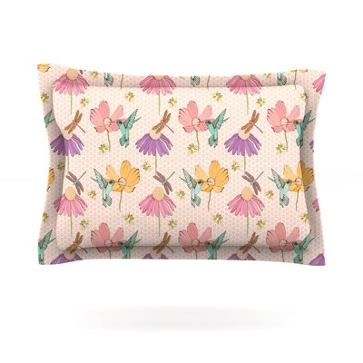 Magic Garden by Laura Escalante Featherweight Pillow Sham Size: King, Fabric: Cotton