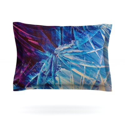 Night Flowers by Ebi Emporium Featherweight Pillow Sham Size: King, Fabric: Cotton