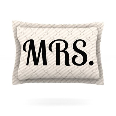 MRS Featherweight Pillow Sham Size: King, Fabric: Cotton