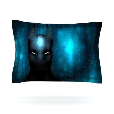 Dark Knight by Mandie Manzano Featherweight Pillow Sham Size: King, Fabric: Cotton