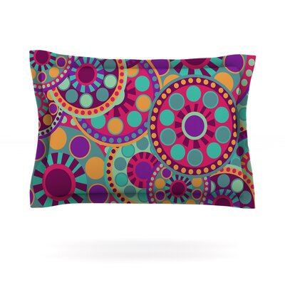 Valencia by Nika Martinez Featherweight Pillow Sham Size: Queen, Fabric: Cotton