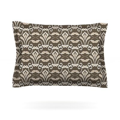 Deco by Julia Grifol Featherweight Pillow Sham Size: King, Fabric: Cotton