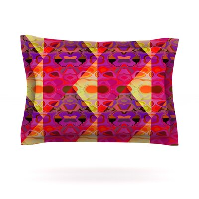 Allicamohot by Nina May Featherweight Pillow Sham Size: Queen, Fabric: Cotton