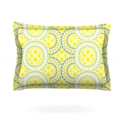 Blossoming Buds by Miranda Mol Featherweight Pillow Sham Size: King, Fabric: Cotton