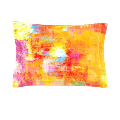 Off The Grid by Ebi Emporium Featherweight Pillow Sham Size: King, Fabric: Cotton