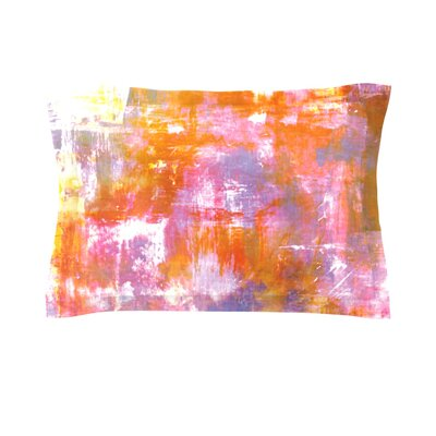 Off The Grid II by Ebi Emporium Featherweight Pillow Sham Size: King, Fabric: Cotton